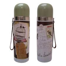 thermos fles with love